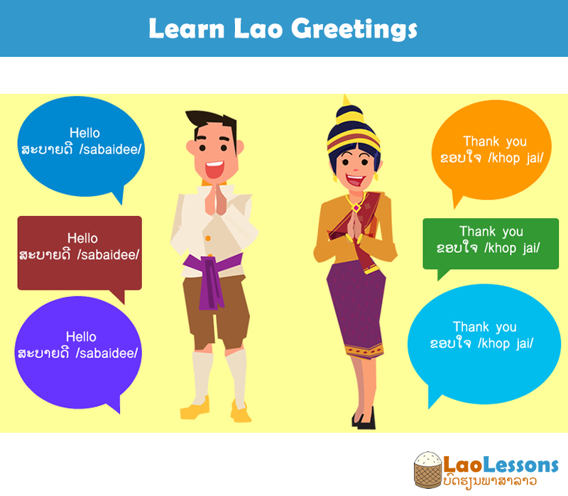 Greetings in Lao